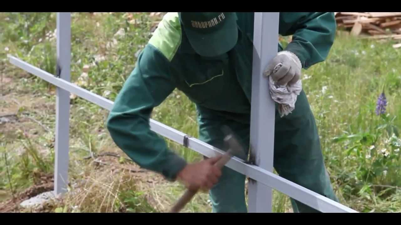 Свариваем забор своими руками 75